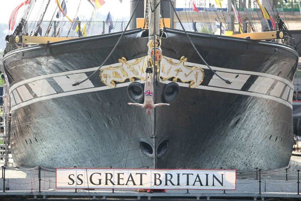 Evening Post - SS Great Britain